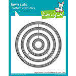 Lawn Fawn - Lawn Cuts - Dies - Large Dotted Circle Stackables