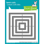 Lawn Fawn - Lawn Cuts - Dies - Small Dotted Square Stackables