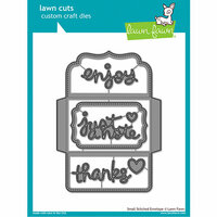 Lawn Fawn - Lawn Cuts - Dies - Small Stitched Envelope