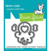 Lawn Fawn - Lawn Cuts - Dies - Octopi My Heart