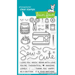 Lawn Fawn - Clear Acrylic Stamps - Sewn with Love