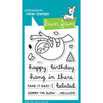 Lawn Fawn - Clear Acrylic Stamps - Hang in There