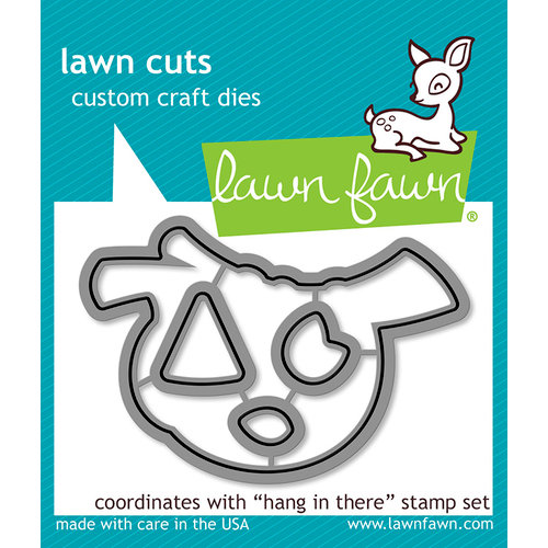 Lawn Fawn - Lawn Cuts - Dies - Hang in There