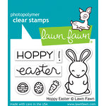 Lawn Fawn - Clear Acrylic Stamps - Hoppy Easter