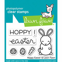Lawn Fawn - Clear Photopolymer Stamps - Hoppy Easter
