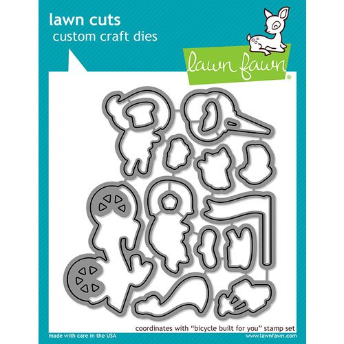 Lawn Fawn - Lawn Cuts - Dies - Bicycle Built For You
