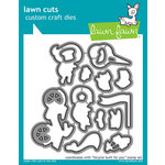 Lawn Fawn Bicycle Built For You Lawn Cuts Dies