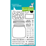Lawn Fawn - Clear Acrylic Stamps - How You Bean