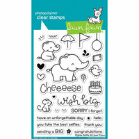 Lawn Fawn - Clear Photopolymer Stamps - Elphie Selfie