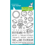 Lawn Fawn - Clear Acrylic Stamps - Out of This World