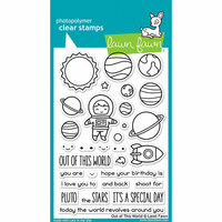 Lawn Fawn - Clear Photopolymer Stamps - Out of This World
