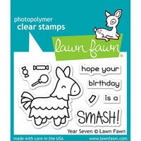 Lawn Fawn - Clear Photopolymer Stamps - Year Seven