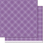 Lawn Fawn - Perfectly Plaid Collection - Rainbow - 12 x 12 Double Sided Paper - Gumdrop
