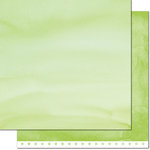 Lawn Fawn - Watercolor Wishes Collection - 12 x 12 Double Sided Paper - Four-Leaf Clover