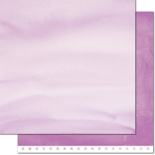 Lawn Fawn - Watercolor Wishes Collection - 12 x 12 Double Sided Paper - Horseshoe