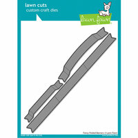 Lawn Fawn - Lawn Cuts - Dies - Fancy Folded Banners