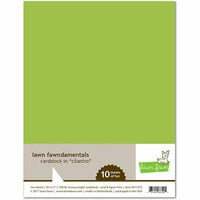 Lawn Fawn - 8.5 x 11 Cardstock - Cilantro - 10 Pack