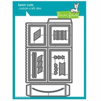 Lawn Fawn - Lawn Cuts - Dies - Scalloped Box Card Pop Up