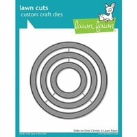 Lawn Fawn - Lawn Cuts - Dies - Slide on Over Circles