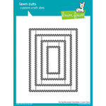 Lawn Fawn - Lawn Cuts - Dies - Zig Zag Rectangle Stackables