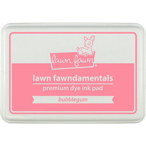 Lawn Fawn - Premium Dye Ink Pad - Bubblegum
