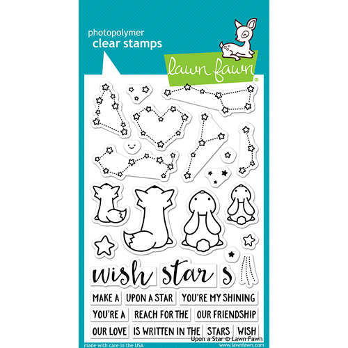 Lawn Fawn - Clear Photopolymer Stamps - Upon a Star