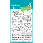Lawn Fawn - Clear Photopolymer Stamps - Plane and Simple