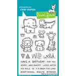 Lawn Fawn - Clear Photopolymer Stamps - Wild for You