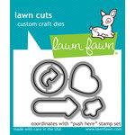 Lawn Fawn - Lawn Cuts - Dies - Push Here