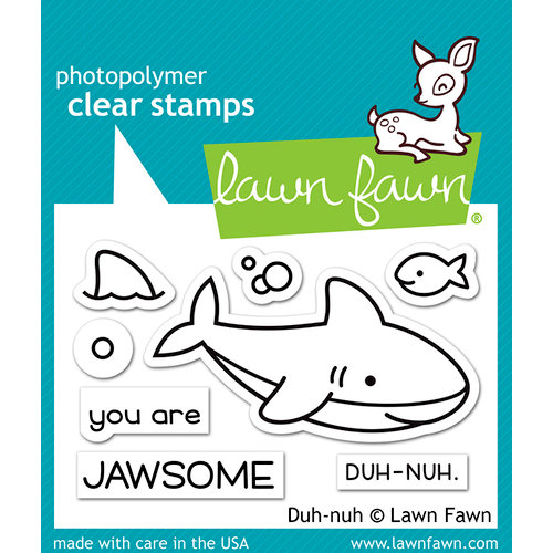 Lawn Fawn - Clear Photopolymer Stamps - Duh-nuh