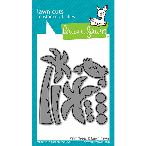Lawn Fawn - Lawn Cuts - Dies - Palm Trees