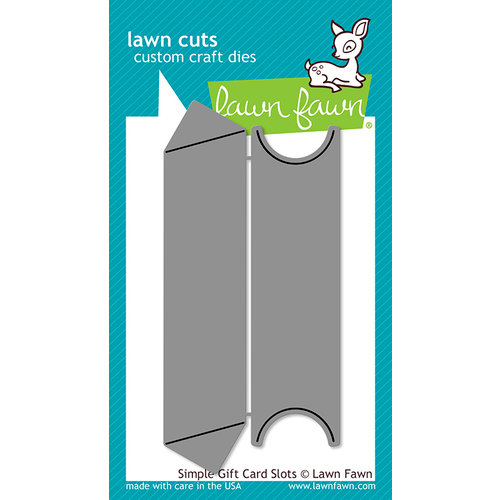 Lawn Fawn - Lawn Cuts - Dies - Simple Gift Card Slots