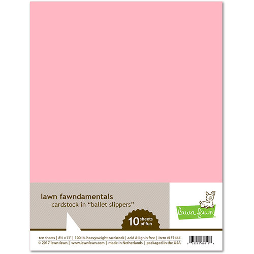 Lawn Fawn Ballet Slippers Cardstock
