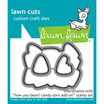 Lawn Fawn - Halloween - Lawn Cuts - Dies - How You Bean, Candy Corn Add-On Dies