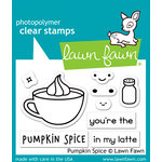 Lawn Fawn - Clear Photopolymer Stamps - Pumpkin Spice