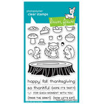 Lawn Fawn - Clear Acrylic Stamps - Forest Feast
