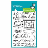 Lawn Fawn - Clear Photopolymer Stamps - Christmas Dreams
