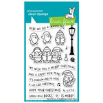 Lawn Fawn - Clear Acrylic Stamps - Here We Go A-Waddling