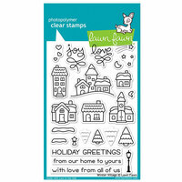 Lawn Fawn - Christmas - Clear Photopolymer Stamps - Winter Village