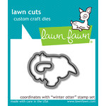 Lawn Fawn - Christmas - Lawn Cuts - Dies - Winter Otter