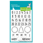 Lawn Fawn - Clear Photopolymer Stamps - Celebration Countdown