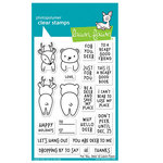 Lawn Fawn - Clear Acrylic Stamps - For You, Deer