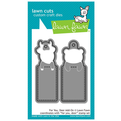 Lawn Fawn - Lawn Cuts - Dies - For You, Deer Add-On