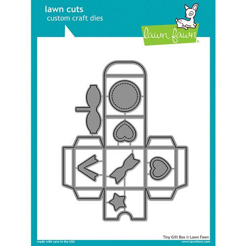 Lawn Fawn - Lawn Cuts - Dies - Tiny Gift Box