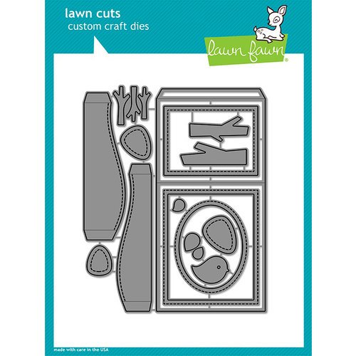 Lawn Fawn - Lawn Cuts - Dies - Shadow Box Card