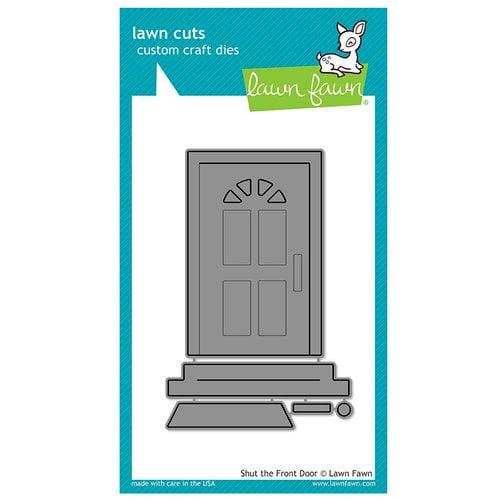 Lawn Fawn - Lawn Cuts - Dies - Shut the Front Door