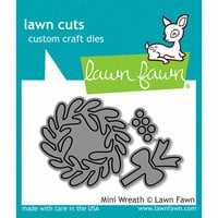 Lawn Fawn - Lawn Cuts - Dies - Mini Wreath