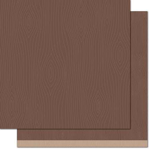 Lawn Fawn - Knock on Wood Collection - 12 x 12 Double Sided Paper - Armoire