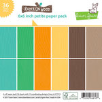 Lawn Fawn - Knock on Wood Collection - 6 x 6 Petite Paper Pack