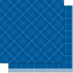 Lawn Fawn - Perfectly Plaid Collection - Chill - 12 x 12 Double Sided Paper - Take Ten
